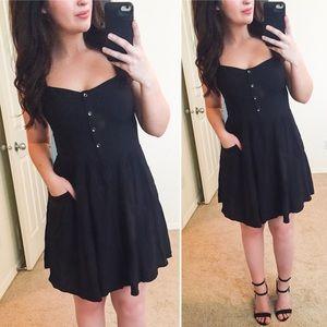 EXPRESS Strappy Black Dress (NWT)